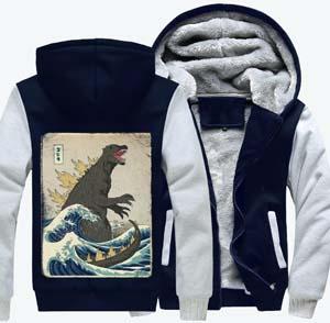 Godzilla Fleece Jacket