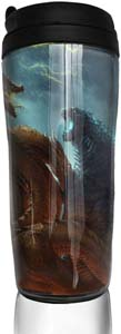 Godzilla Monster Coffee Cup