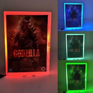 Godzilla Night Light Led