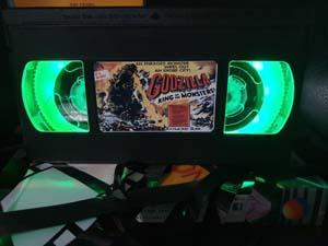 Godzilla Retro Vhs Lamp