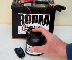 Godzilla Roar Sounds Car Horn Wireless
