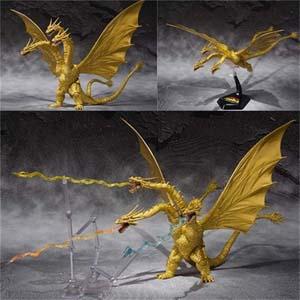 Three Headed Dragon Godzilla Kidora Model Limited Addition
