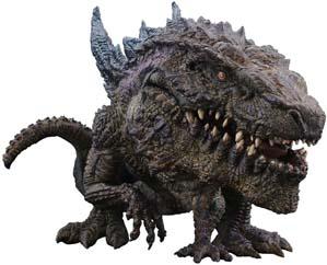 X Plus Deforeal Series Godzilla 1998 Figure From Japan